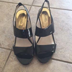 Michael Kors patent leather heels 8